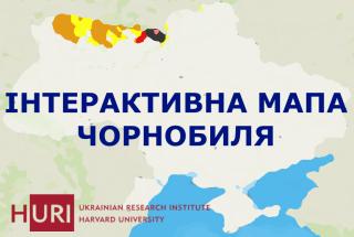 Мапа Чорнобилю